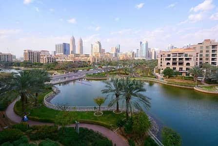 Studio for Rent in The Views, Dubai - Bright Studio In Links Canal With Full Lake View