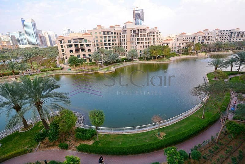 2 Bright Studio In Links Canal With Full Lake View
