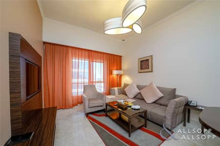1 Bedroom Apartment for Rent in Dubai Production City (IMPZ), Dubai - Serviced Apartment | Pay Monthly | 1 Bed