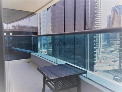 1 Bedroom Apartment for Rent in Jumeirah Lake Towers (JLT), Dubai - Walking distance to the metro and lake view