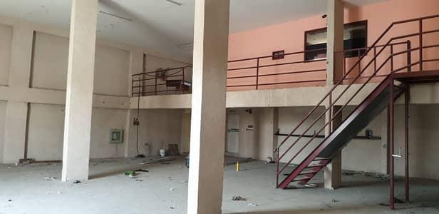 مستودع  للايجار في الجرف، عجمان - 3200 Sq. Ft Warehouse with Mezzanine available for rent in Al Jurf Industrial Area