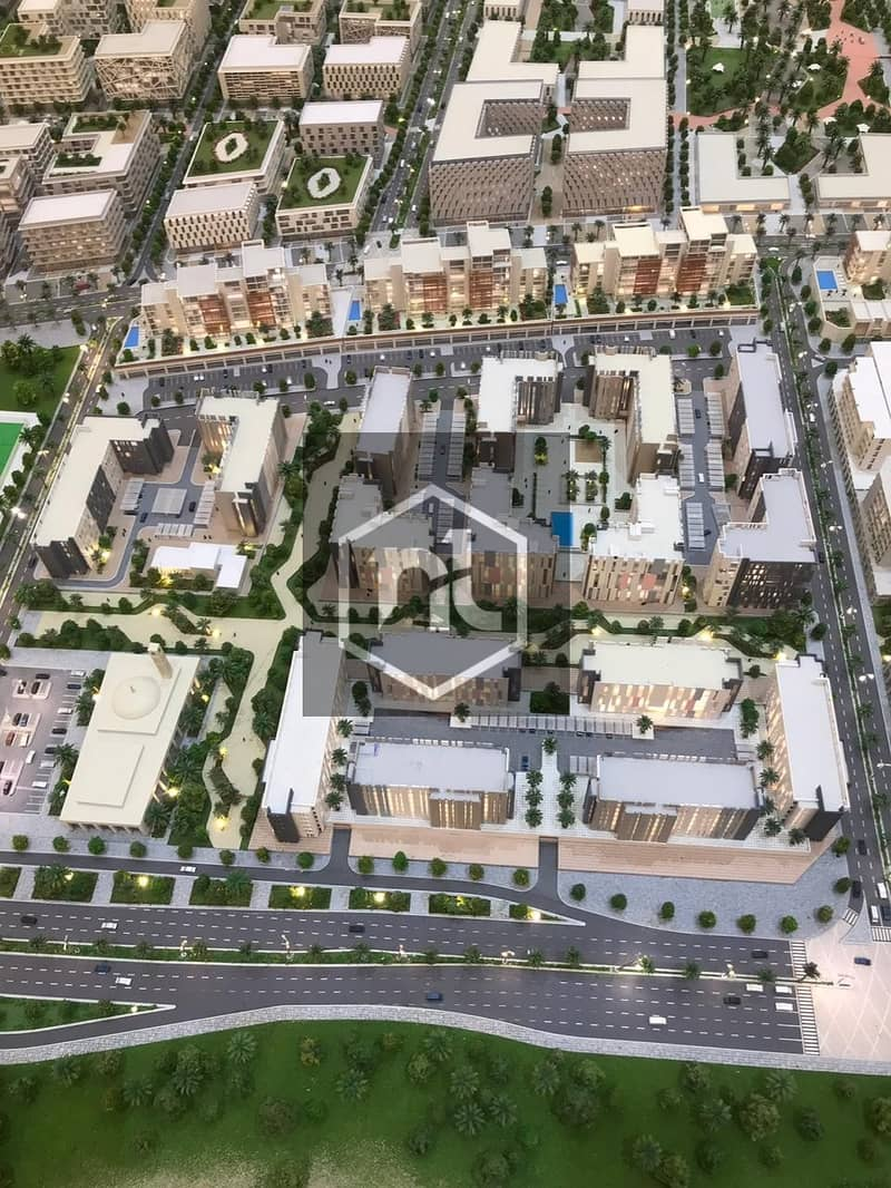 15 The cheapest price in the new Downtown of Sharjah