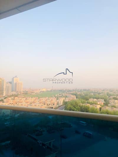 Studio for Rent in Dubai Sports City, Dubai - Full Golf Course View Studio In Elite 4