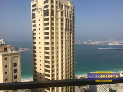 Fully Furnished 2 Beds with Full Sea View in Rimal-1 at JBR.