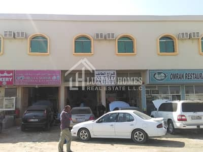 Labour Camp for Rent in Al Jurf, Ajman - Labor Rooms !! with Electrcity and Water in Jurf Industrial Ajman