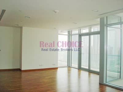 Rented Property|Sea and DIFC Views|Spacious 3BR
