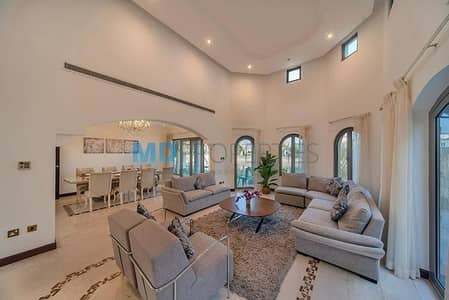 فیلا 4 غرفة نوم للبيع في نخلة جميرا، دبي - Distinctive Family living with stunning sea views