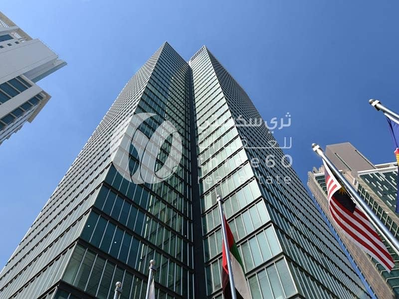 2 290 Sq. Mt Office for Sale in Tamouh Tower!