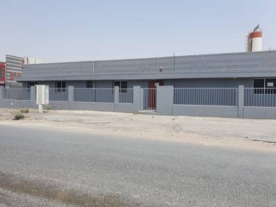Warehouse for Sale in Industrial Area, Sharjah - for sale ware house and 8 rooms labor camp in sharjah industrial area number 17 corner plot