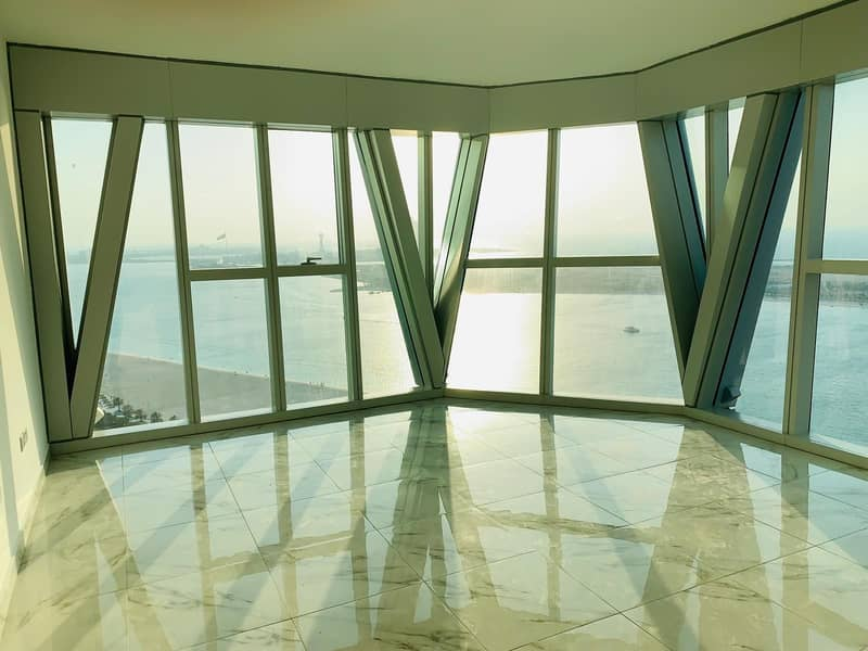 19 Modern Design!! Sea View 3BHK+Maid Rm+Parking in Corniche