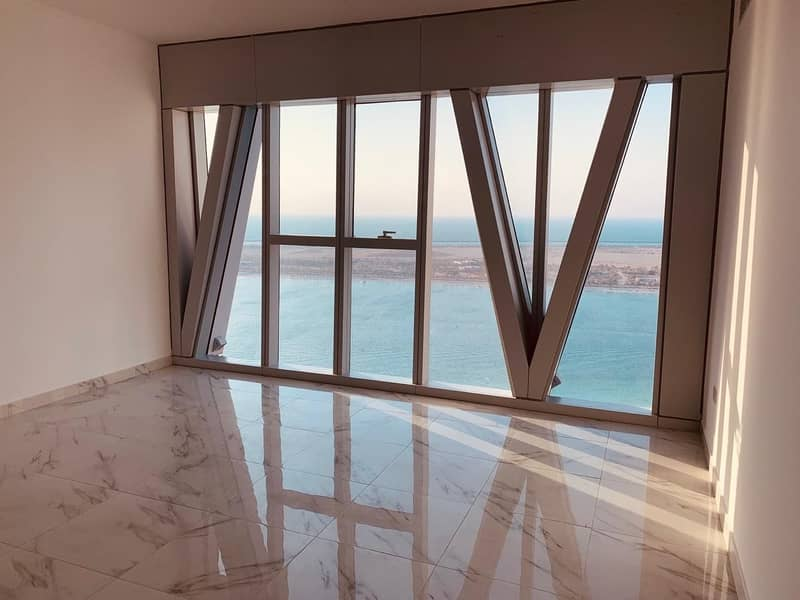2 Modern Design!! Sea View 3BHK+Maid Rm+Parking in Corniche
