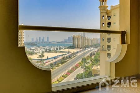 فلیٹ 3 غرفة نوم للايجار في نخلة جميرا، دبي - Type C  I  3 Bed plus  Maid  I  Vacant Apt