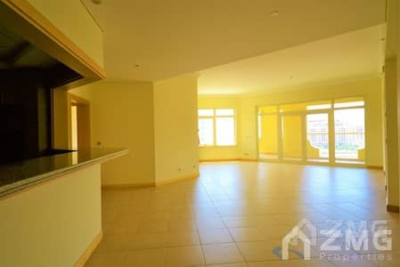 3 Bedroom Flat for Rent in Palm Jumeirah, Dubai - Beach Side  I High Floor Apt  I  Type C