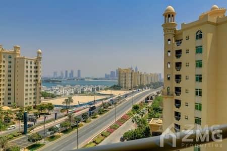 شقة 2 غرفة نوم للبيع في نخلة جميرا، دبي - Investor Deal  I High Floor I Rented Apt