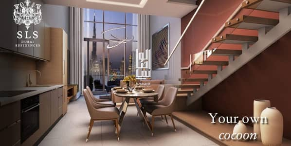 1 Bedroom Flat for Sale in Business Bay, Dubai - Extraordinary home!  burj khalifa view - 7 years post handover