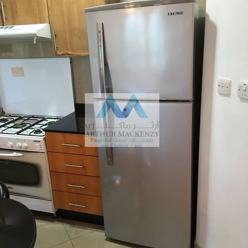 13 Sea View | Furnished 2BR + M | Chiller Free