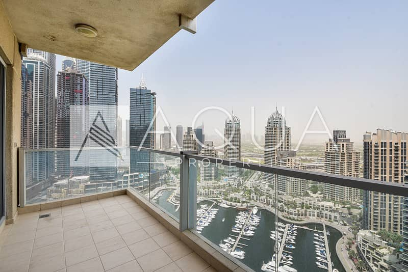 12 Full Marina View/ 3 Bed + Maid / Marina Tower