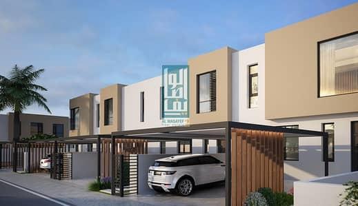 تاون هاوس 2 غرفة نوم للبيع في الطي، الشارقة - Own a luxury villa in Sharjah with ZERO service charge /off plan