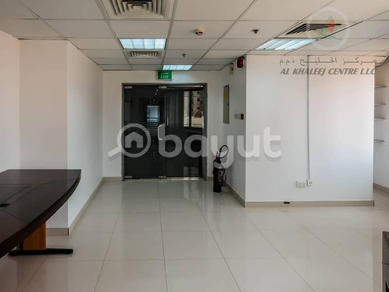2 1 MONTH FREE PROMOTION! BIG OFFICE WITH  PARTITION AVAILABLE IN BUR DUBAI