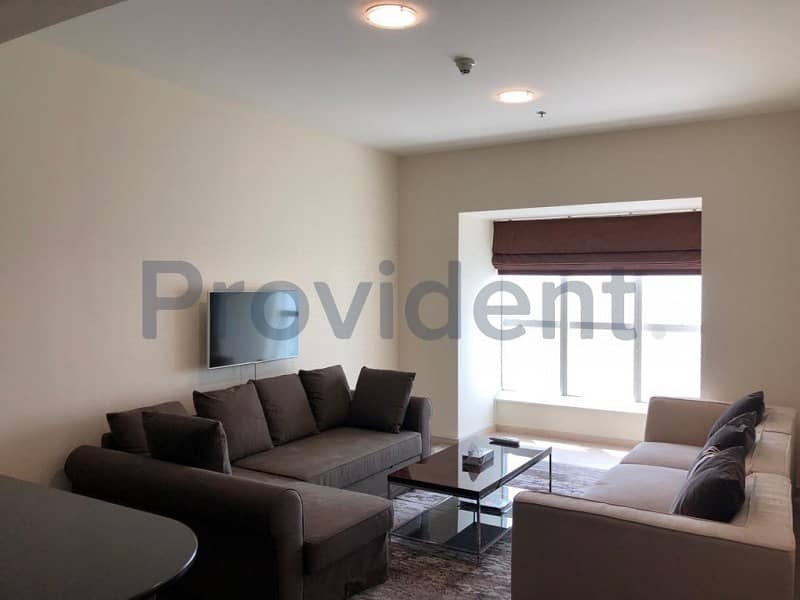 2 Elegantly Furnished 1 BR | Full Sea View