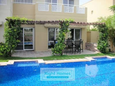 5 Bedroom Villa for Sale in The Meadows, Dubai - Corner Villa 5BR+S+M | Private Pool