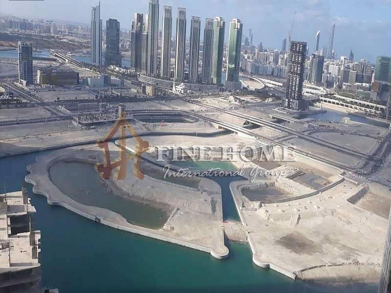 Land Permitted 25 Floors in Reem Island.