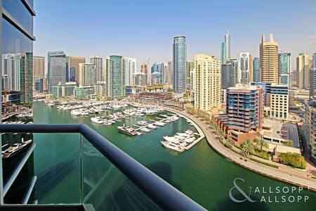 3 Bedroom Flat for Sale in Dubai Marina, Dubai - 3 Bed | Full Marina View | Vacant Soon
