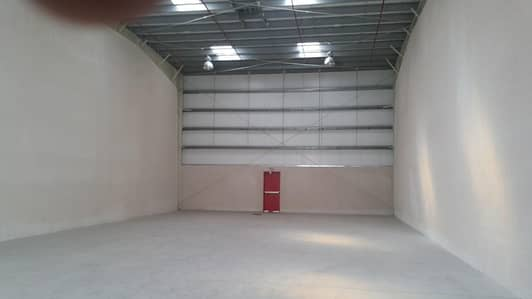 Warehouse for Rent in Industrial Area, Sharjah - 22.5 KW POWER at Low Rent/Insulated/8m height/Toilet/Brand new !!