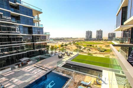 2 Bedroom Flat for Sale in DAMAC Hills (Akoya by DAMAC), Dubai - Vacant on Transfer | Pool View | 2 Bedroom