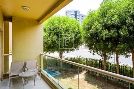 شقة 2 غرفة نوم للايجار في الروضة، دبي - Ground Floor Fully Furnished 2 Bed with Free Chiller