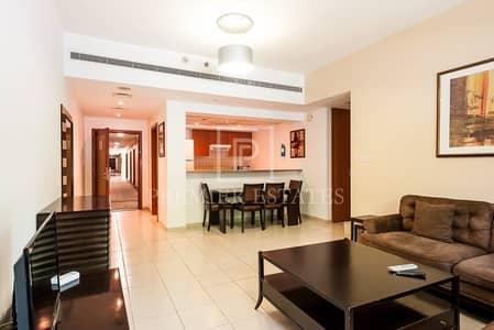 فلیٹ 2 غرفة نوم للايجار في الروضة، دبي - Fully Furnished 2 Bed with Chiller | Large Balcony