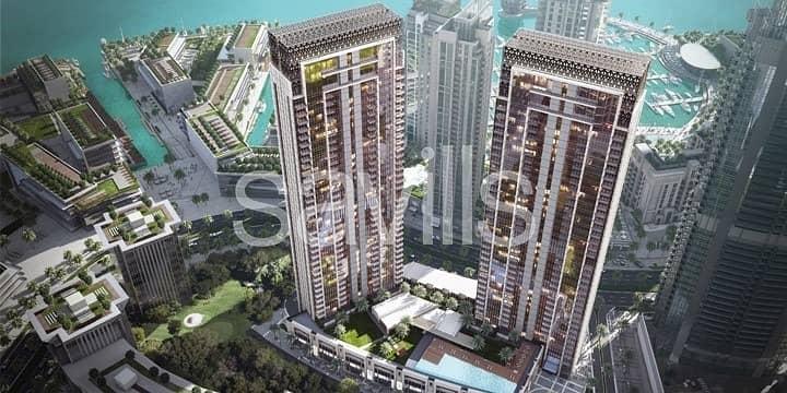 10 Top Floor | Dubai Creek and Burj Khalifa Views