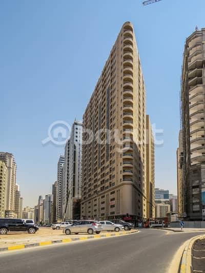شقة 2 غرفة نوم للايجار في النهدة، الشارقة - شقة في بناية عبدالله الشيبة النهدة 2 غرف 31000 درهم - 4167434