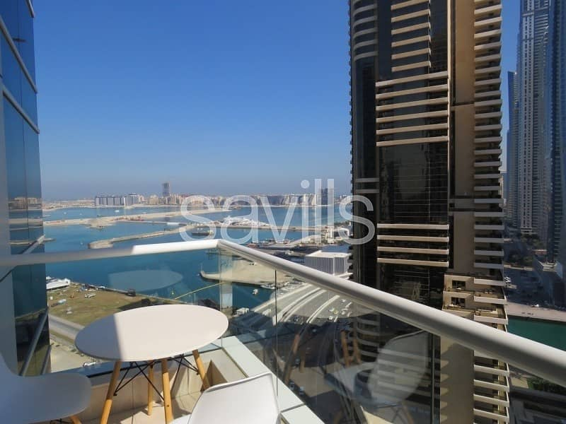 2 Exclusive 1 Bed | Sea View | Upgraded