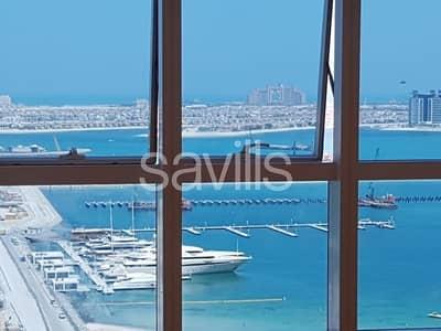 فلیٹ 2 غرفة نوم للبيع في دبي مارينا، دبي - Full Sea View | High Floor | Kitchen Equipped