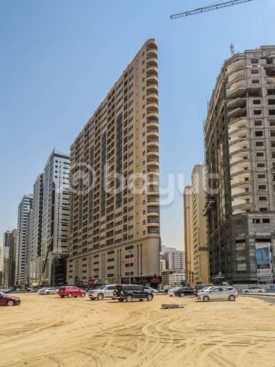 فلیٹ 3 غرف نوم للايجار في النهدة، الشارقة - شقة في بناية عبدالله الشيبة النهدة 3 غرف 52000 درهم - 4167979