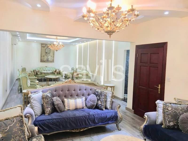 2 Upgraded  4 br townhouse with 2 majlis in raha garden