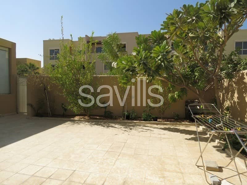 16 Upgraded  4 br townhouse with 2 majlis in raha garden