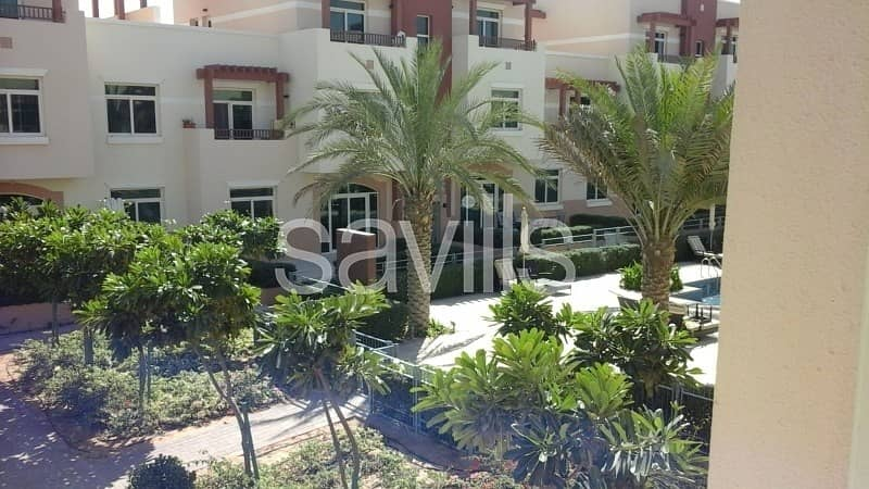 13 2 Br Terrace Apartment for 65k 4 Cheques with Pool View