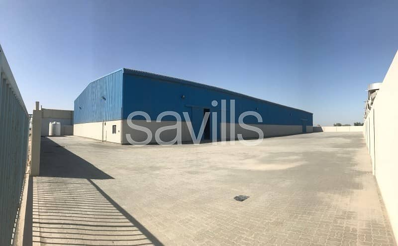 Excellent New Warehouse for Lease in Musaffah