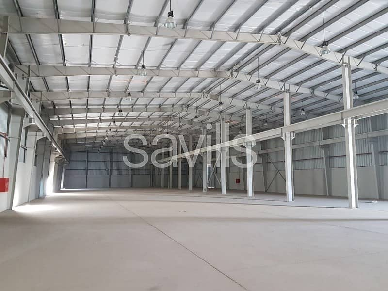 2 Excellent New Warehouse for Lease in Musaffah