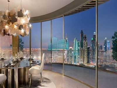 فلیٹ 3 غرفة نوم للبيع في دبي هاربور، دبي -  Palm and Sea  View