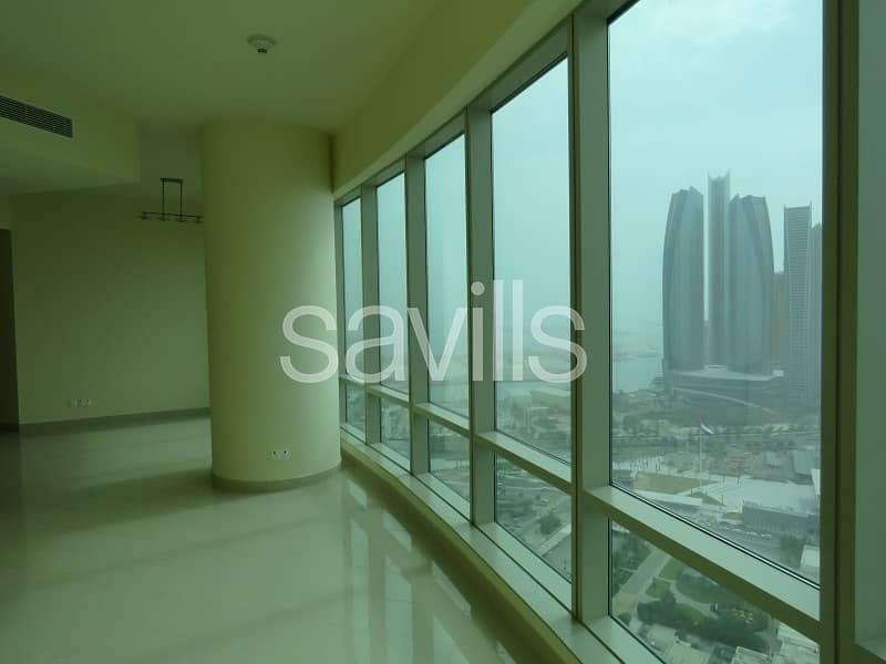 2 Sea front three bedroom with a view
