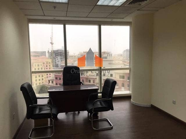2 OFFICE SPACE AT OUD METHA - GULF TOWER