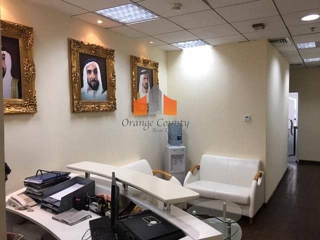 OFFICE SPACE AT OUD METHA - GULF TOWER