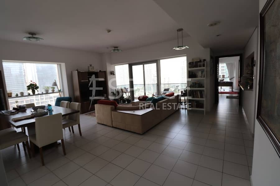 2 Chiller Free-Unfurnished-Full Marina View