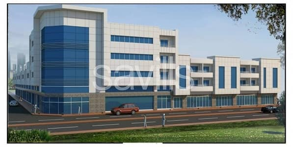مبنی تجاري  للبيع في المنطقة الصناعية ، الشارقة - Showrooms Warehouses and Residential Complex For Sale in Sharjah