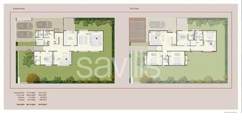 15 Ready shell&core; commercial Villa in Zahia