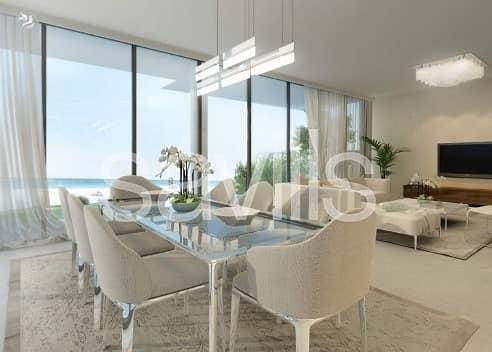2 Independent beach villa with access to marina