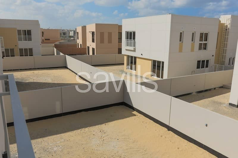 Brand new villa with a large corner plot